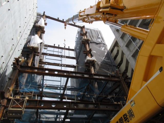 京橋オリックスビル新築工事 写真
