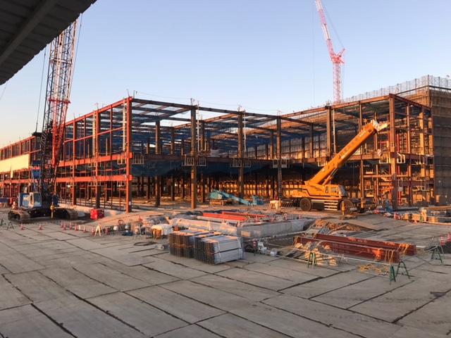 ホクト配送センター新築工事 写真