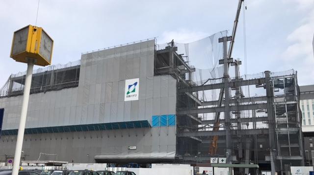 浦和駅西口ビル新築工事 写真
